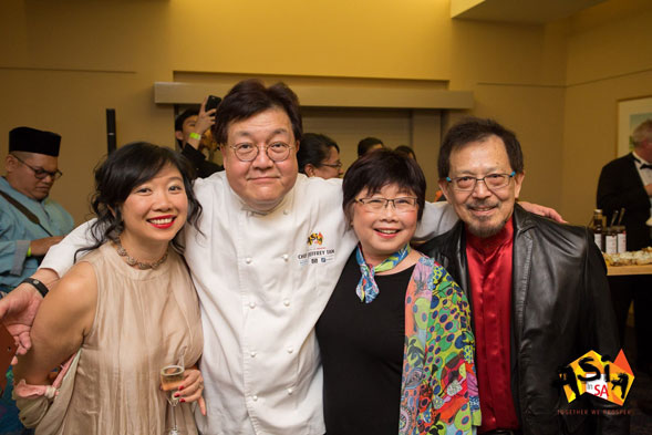 Robyn Lee, Jeffery Tan, Susan Lee